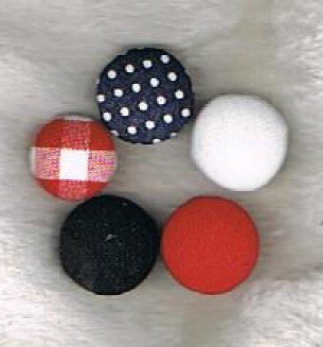 bezogener Knopf - eigenes Material