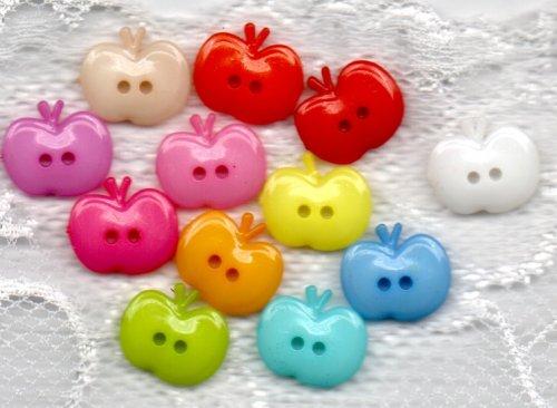 Kinderknopf- Äpfel - 7010