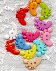 Kinderknopf- Füße - 7004