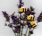 Kinderknopf- Biene - 7003
