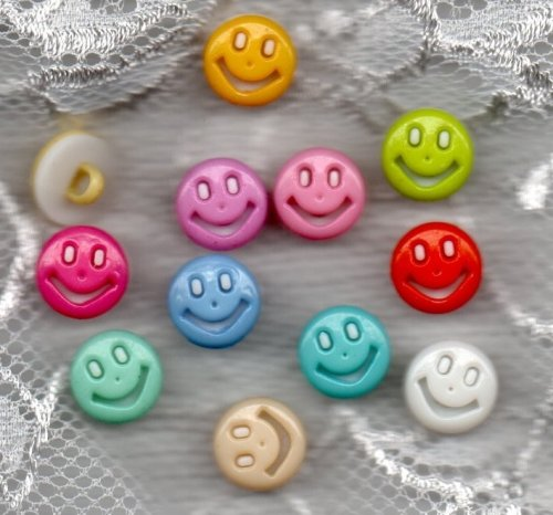 Kinderknopf- Smiley- 7015